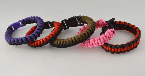 P104 - Assorted Paracord Bracelets