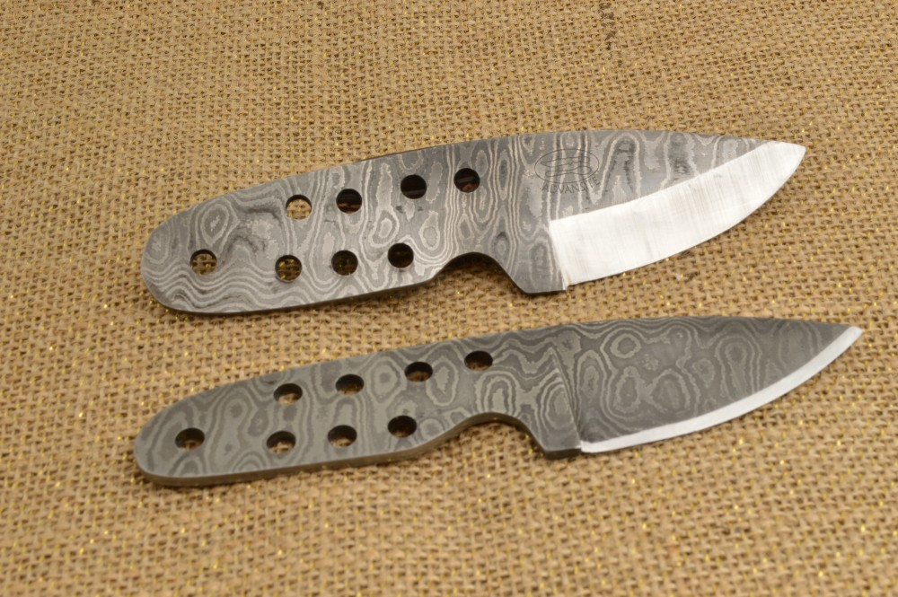 872 - Damascus Neck knives - SOLD