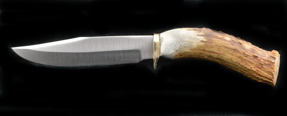 889 - Antler Skinner Hunting knife